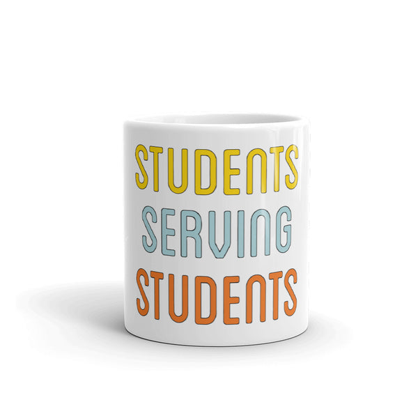 """Students Serving Students"" Mug"