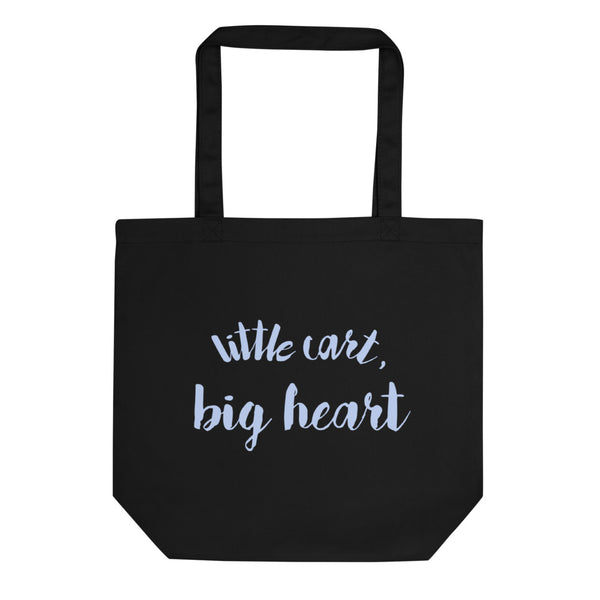 "Mug's ""Little Cart, Big Heart"" Tote Bag"
