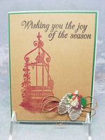 3 Piece Non Denominational Seasons Greetings Card Set