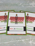 3 Piece Heri Za Kwanzaa Greeting Card Set