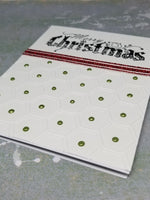 3 Piece Contemporary Christmas Card Set
