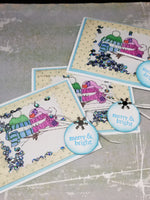 3 Piece Snow Lovers Shaker Card Set