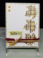 3 Piece Hello Fall! Blank Note Cards