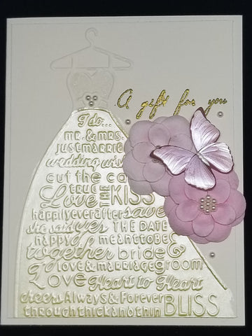 Single Bridal Shower Wedding Card for Bride