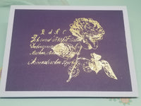 Single Rose Mothers Day Card