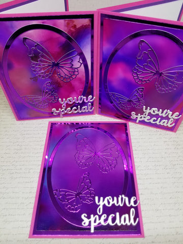 Single You're Special Butterfly Greeting Card