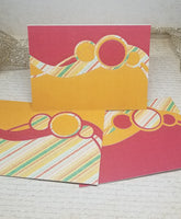3 Piece Blank Note Card Set