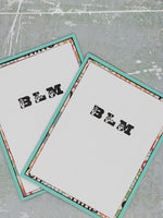 Single ASL BLM Greeting Card