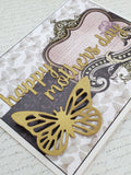 Single Butterfly Mothers Day Card