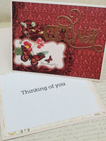 Single Get Well Thinking of You Greeting Card