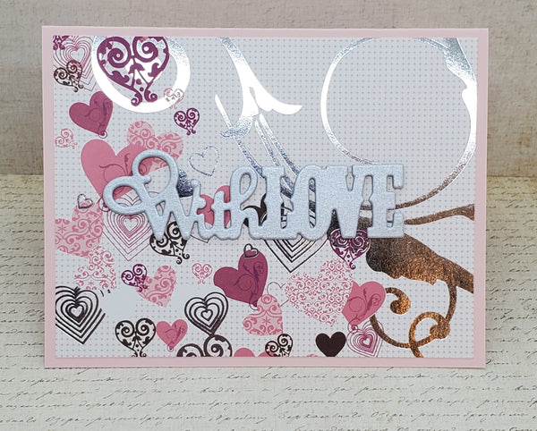 Single Stunning With Love Greeting Card