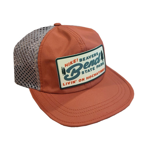 HIKE! Beavers Bend Wide Mesh Trucker