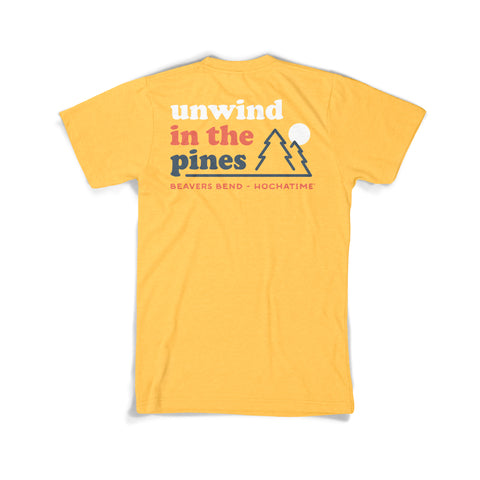 Unwind in the Pines Tee