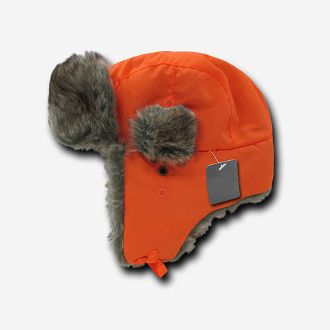 Fur Aviator Winter Hat