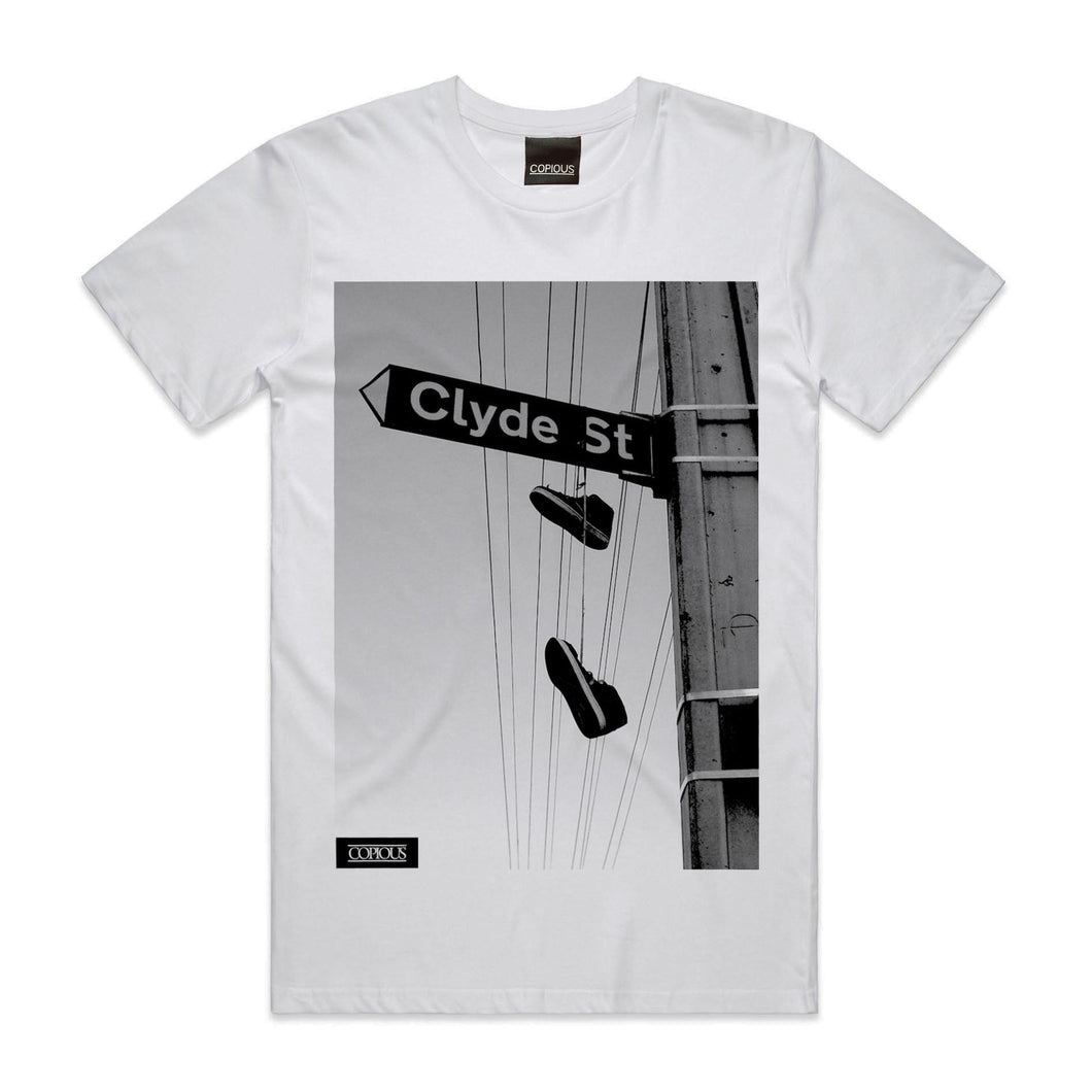 Clyde St Tee - White
