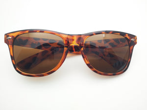Pop Sunglasses - Tort/Brown Lense