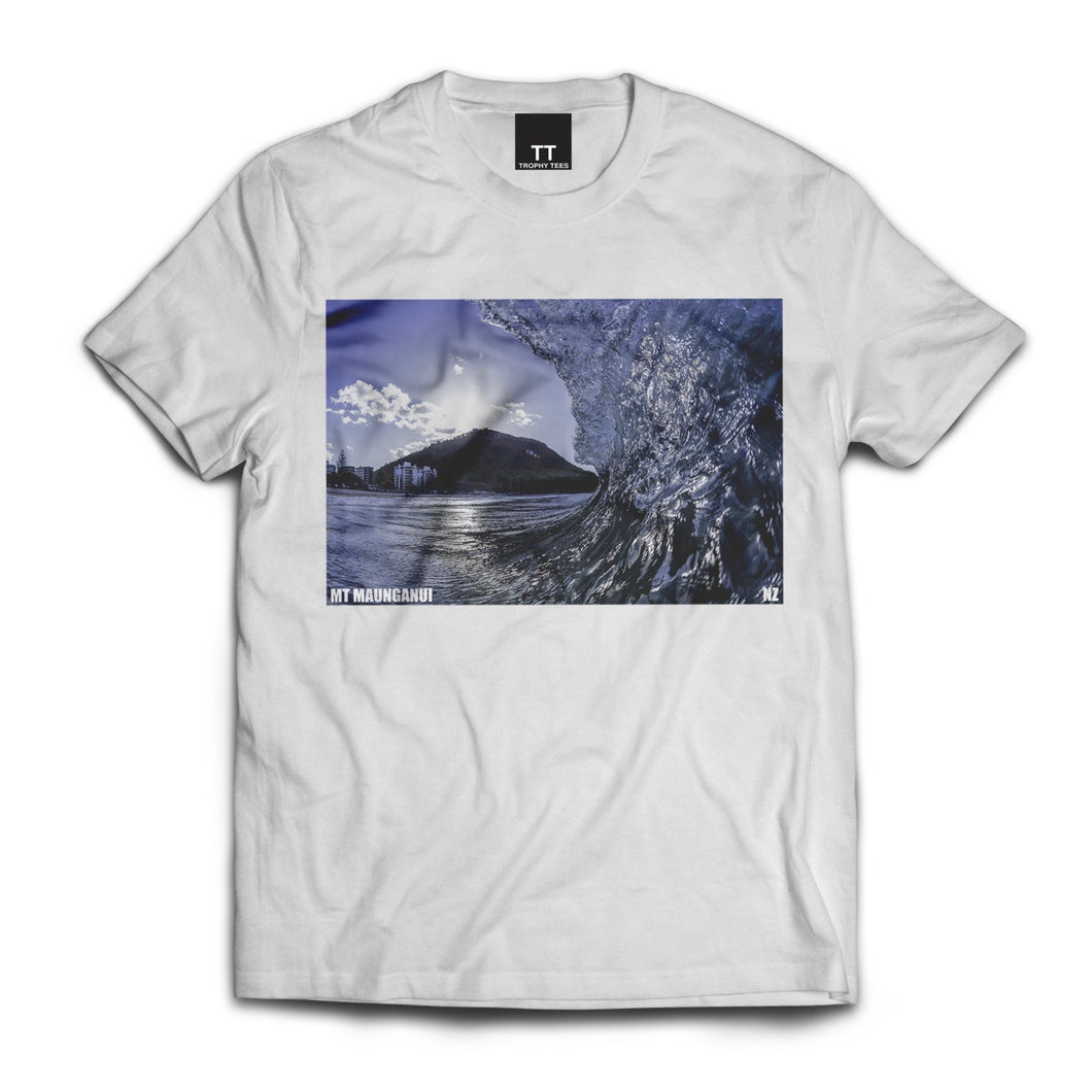 Mt Tube 2 Tee - White