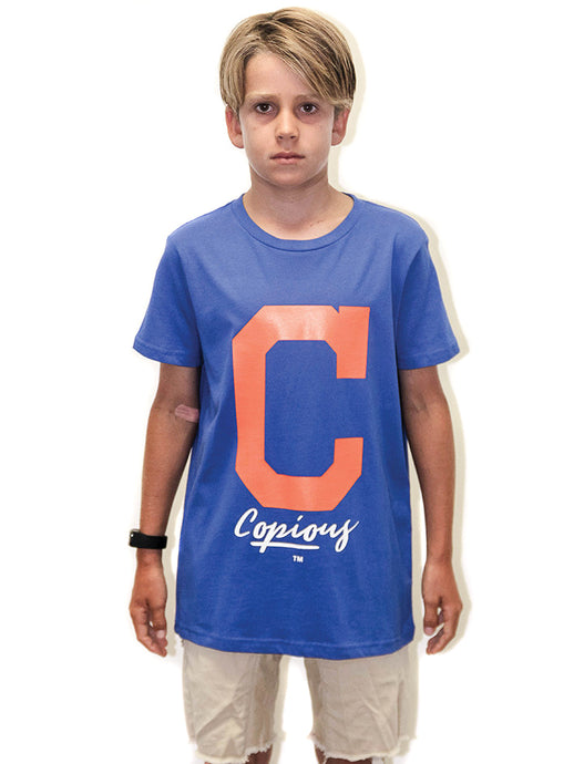 Wildland Youth Tee - Royal Blue
