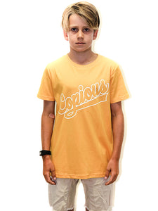 Yankees Youth Tee - Gold