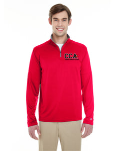 CCA Men's 1/4-Zip Performance Pullover