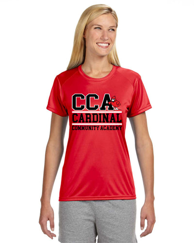 Ladies' Short-Sleeve Cooling Performance Crew