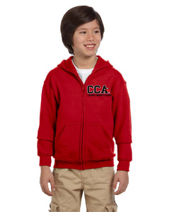 CCA Youth Heavy Blend Full Zip Hoodie