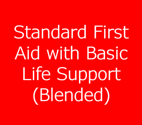 Standard First Aid Course with Basic Life Support (HCP) - Blended Option