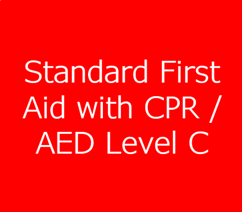 Standard First Aid Course with CPR/AED Level C
