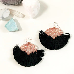 Tiny Dancer Earrings - Rose Gold Edit