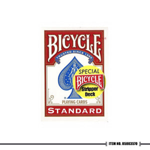 BICYCLE® STRIPPER DECKS RED