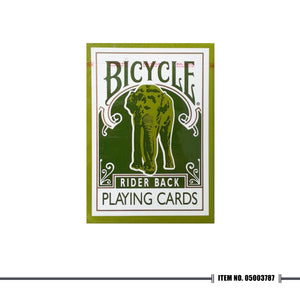 GREEN BICYCLE® ELEPHANT TSUNAMI PLAYING CARDS