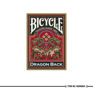 Bicycle® Gold Dragon Decks
