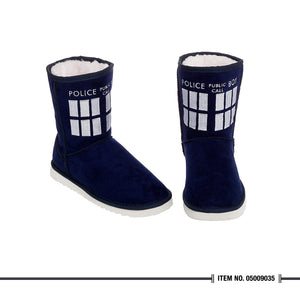 Doctor Who Tardis Boot Slipper