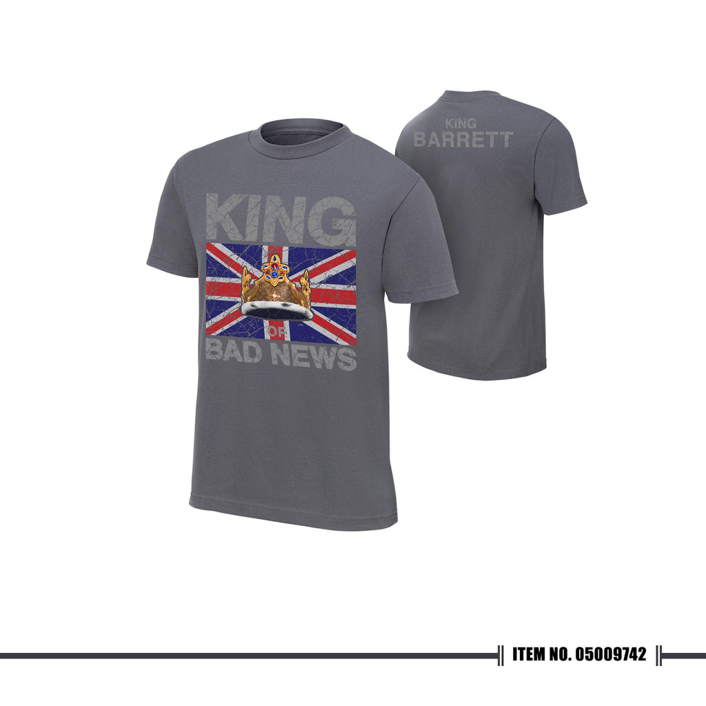"WWE Bad News Barrett ""King Barrett"" Tshirt"