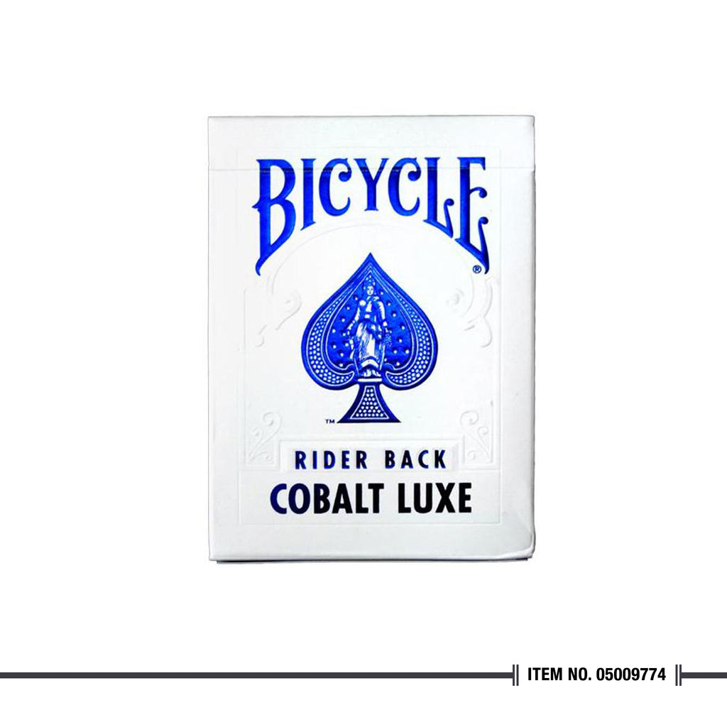 BICYCLE® METALLUXE™ COBALT LUXE PLAYING CARDS