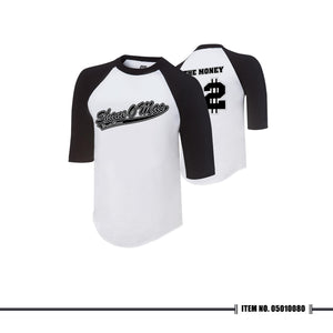 "WWE Shane McMahon ""The Money"" Raglan T-shirt"