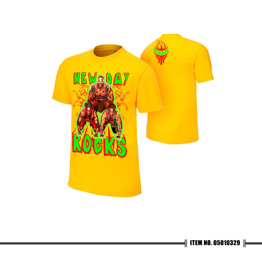 "WWE New Day ""Pyramid of Positivity"" T-shirt"