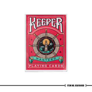 Marked Keeper Red Playing Cards