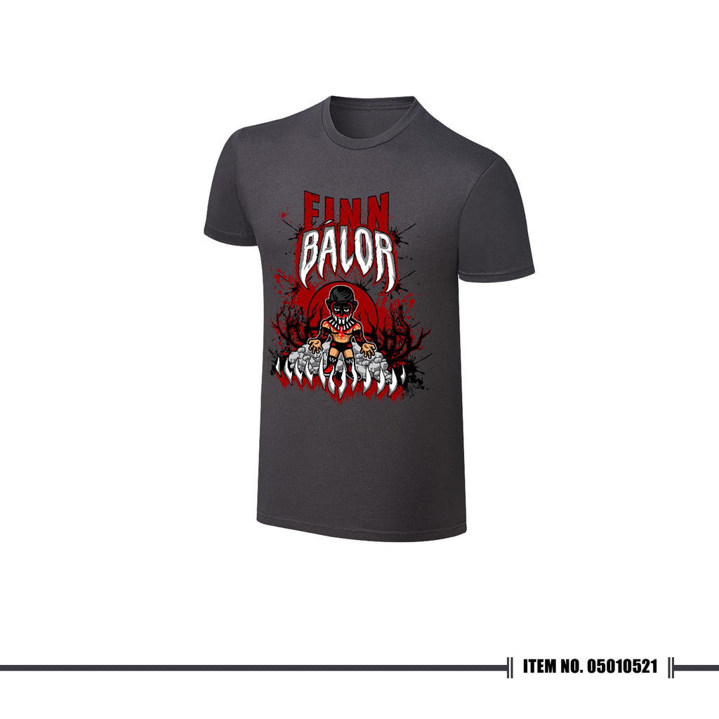 "WWE NERDS Finn Balor ""Demon King Rises"" T-shirt"