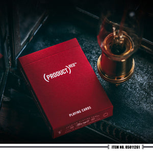 Theory 11 - Red Playing Cards