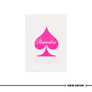 Madison Rounders Playing Cards Pink - Cutting Edge Online Store