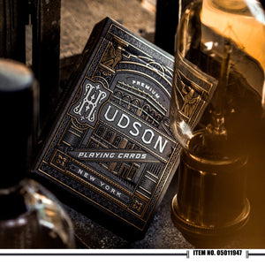 Theory 11 - Black Hudson Playing Cards
