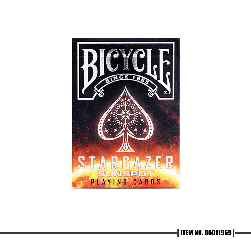 BICYCLE® STARGAZER SUNSPOT PLAYING CARDS