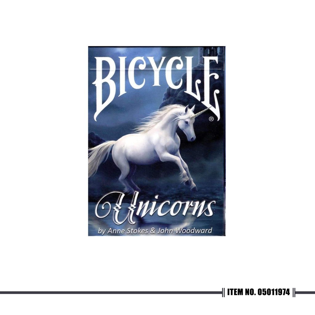 BICYCLE® ANNE STOKES UNICORNS PLAYING CARDS