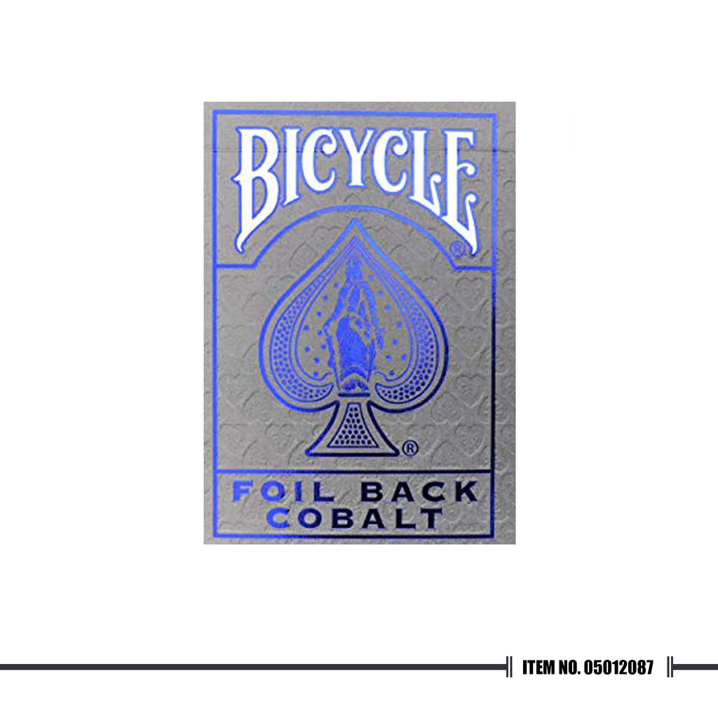 BICYCLE® METALLUXE™ BLUE PLAYING CARDS