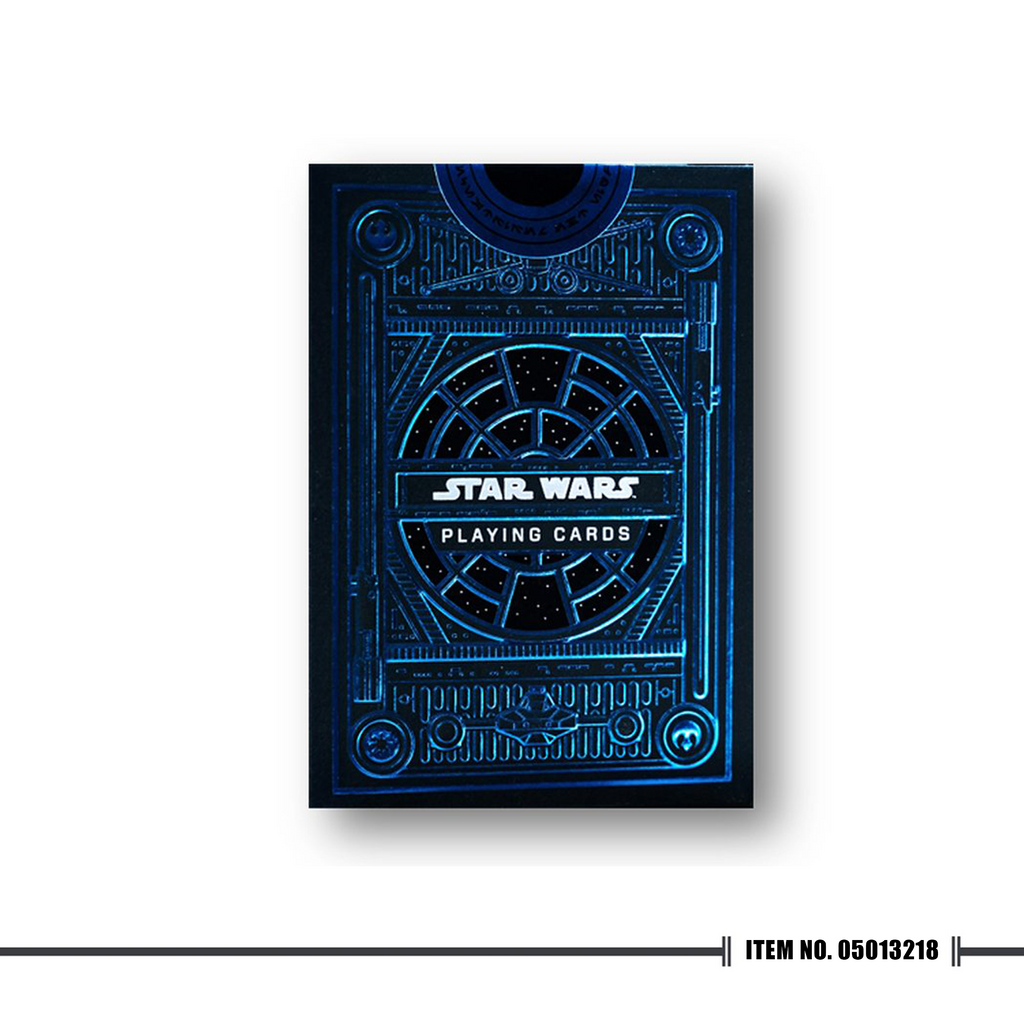 Star Wars Playing Cards Blue
