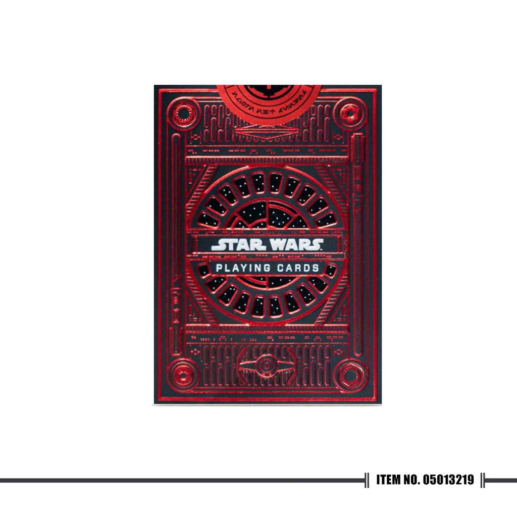 Star Wars Playing Cards Red - Cutting Edge Online Store
