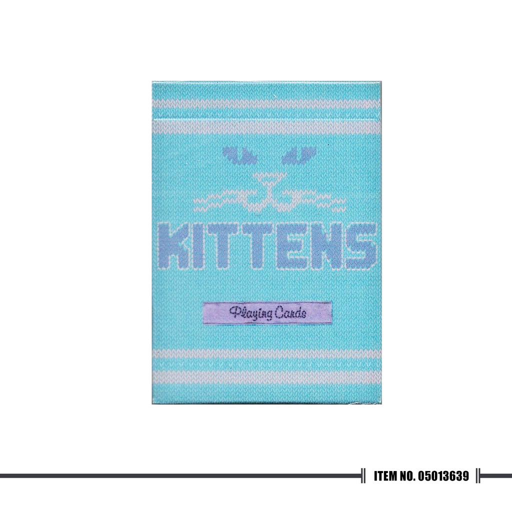Madison Kittens Deck (Blue) - Cutting Edge Online Store