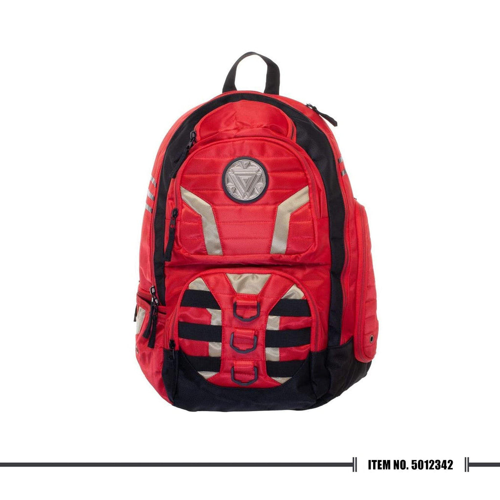 Iron Man Laptop Backpack Red