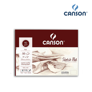 Canson Maroon Sketch Pad